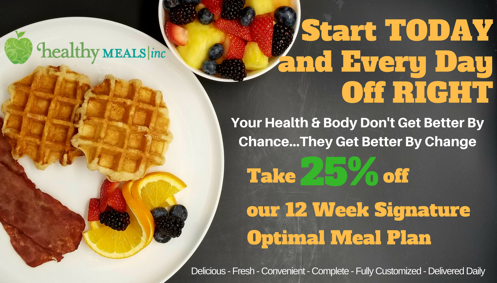 Healthy Meals Special Optimal Meal Plan